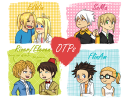 Top Four OTPs by FLASOK