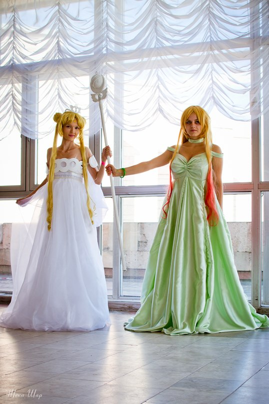Sailor Moon Neo Queen Serenity and Galaxia by IrinaSelena on DeviantArt
