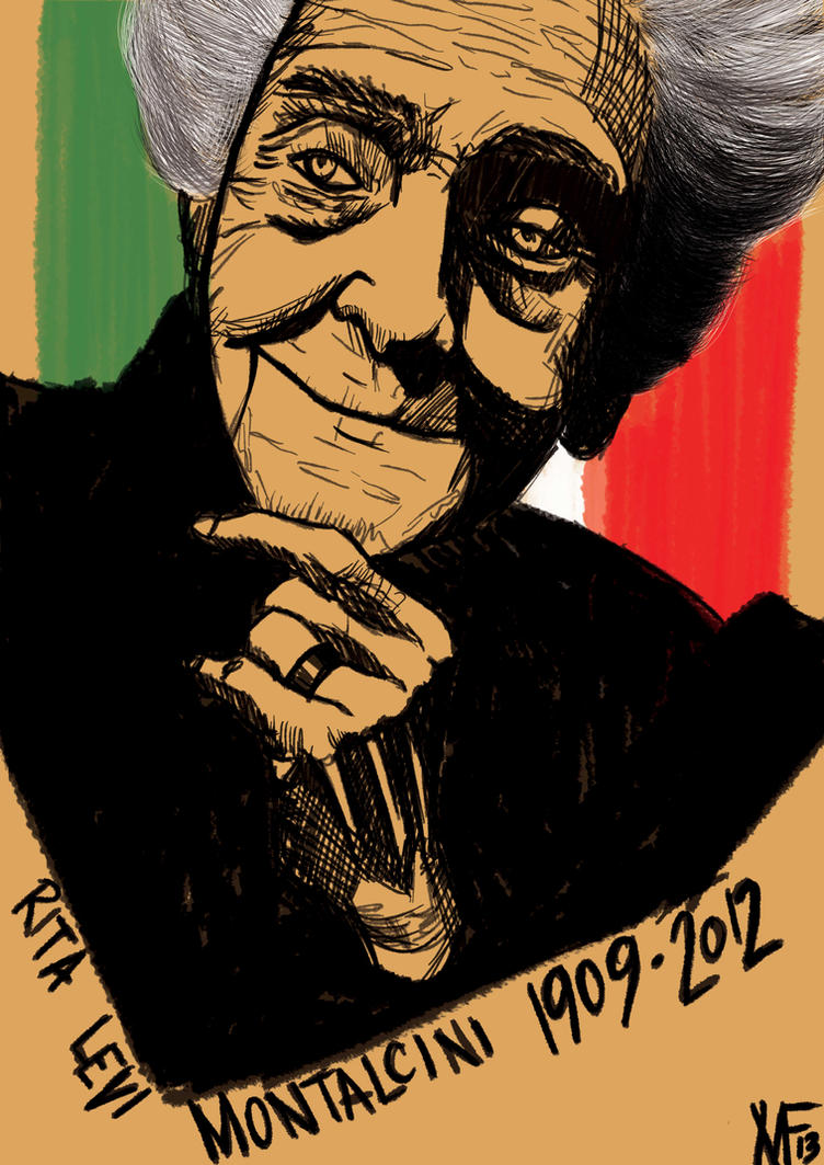 Rita Levi Montalcini by Shigurui