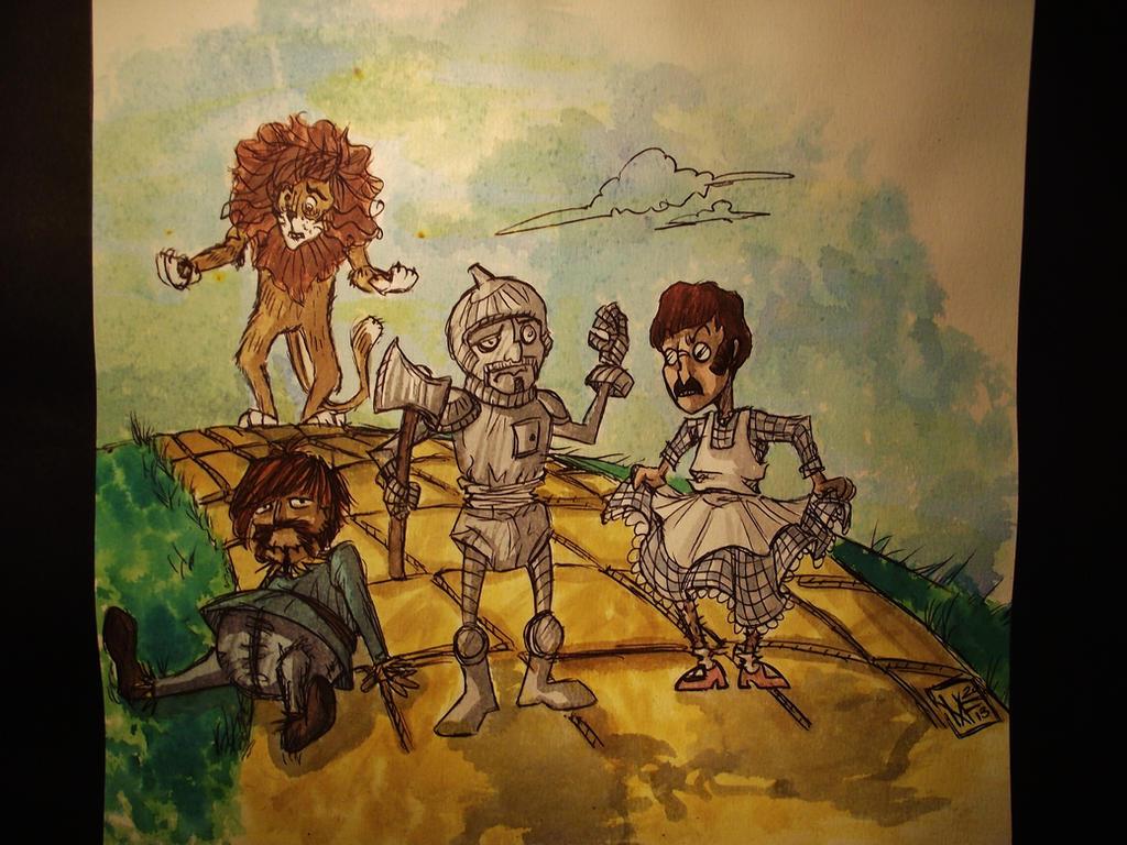 Beatles_x_The Amazing Wizard of Oz by Shigurui