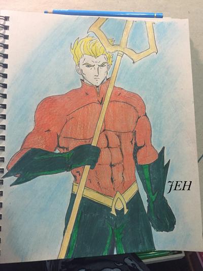 Aquaman by SelenityElizabeth