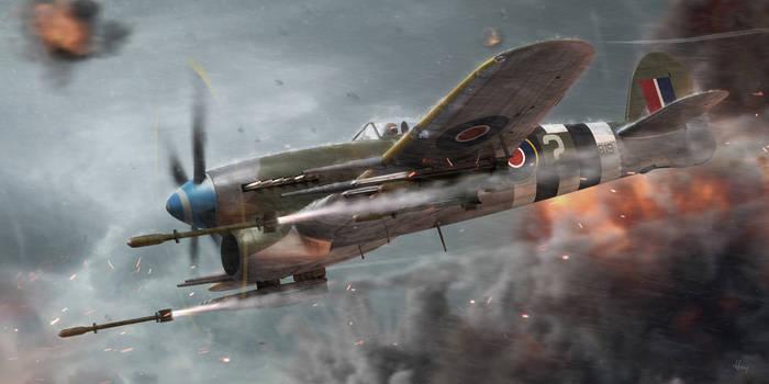 Support Hawker Typhoon by guddi292