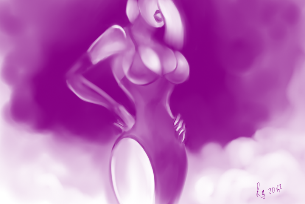 The Ghost of Jessica Rabbit by lastick