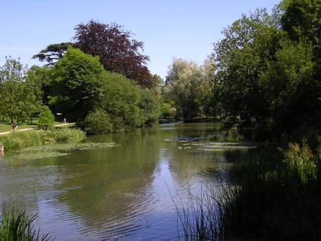 Blenheim Palace Lake