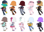 Candyfloss Gacha Outfits!
