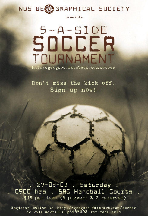 Soccer Tournament By Eskie Stock