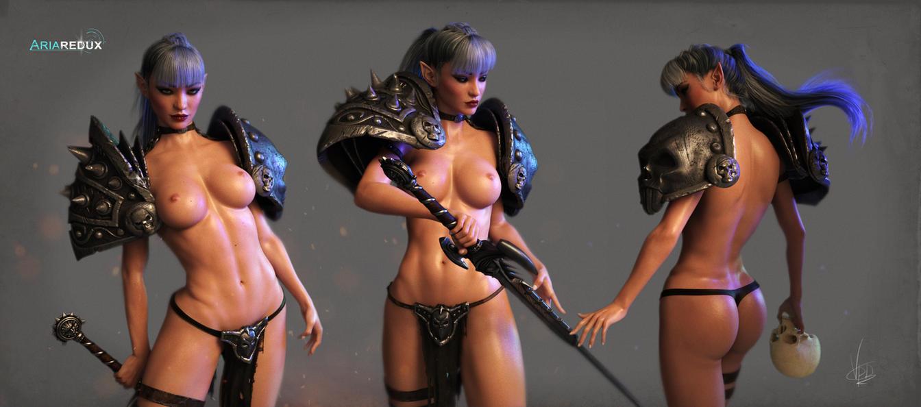 Death-Doll's Bodygaurd by AriaRedux