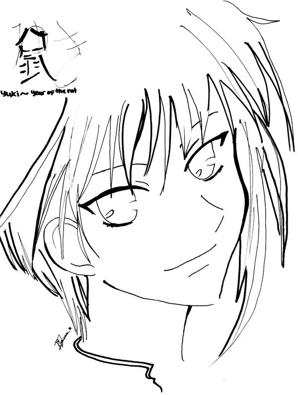 fruits basket coloring pages manga - photo#20