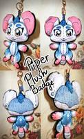 Piper Plush Badge