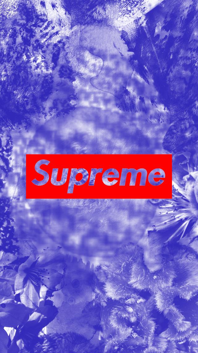 Supreme Blue Dye Wallpaper Iphone 5 By Jd 0 G On Deviantart