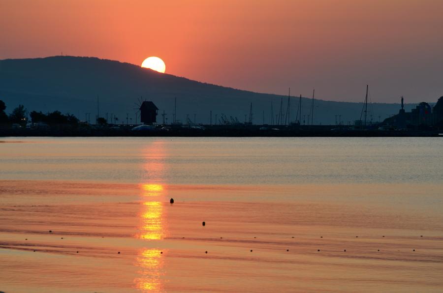 A sunrise over Nesebar 1 by corsuse