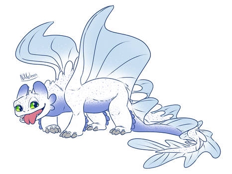 HTTYD: Light Fury Redesign2