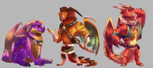 Spyro: Dragon Doodle Sheet