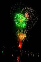 Docklands Fireworks II by Aurrum