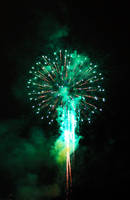 Docklands Fireworks III by Aurrum
