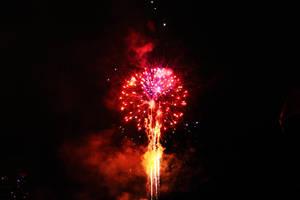 Docklands Fireworks V by Aurrum