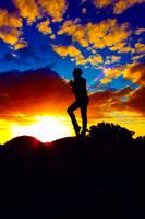 On A Silhouette Day II by Aurrum