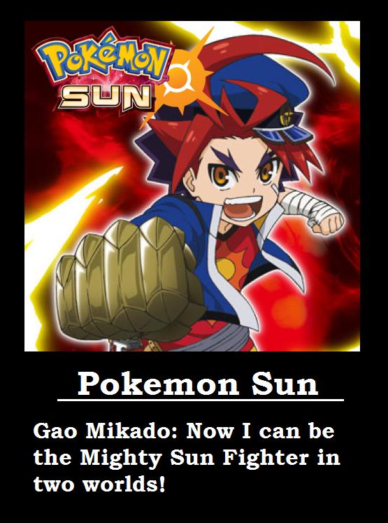 Future Card Buddyfight + Pokemon Sun by MetalGearBlaze
