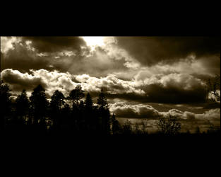Dark clouds wallpaper by wn123