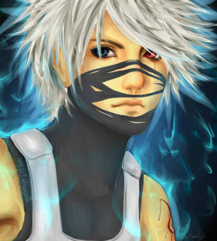 Resubmission: Young Kakashi by shygelli