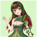 [C] cutie plant girl