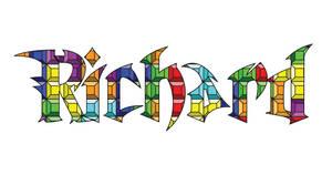 My Name in Unreal Tetris