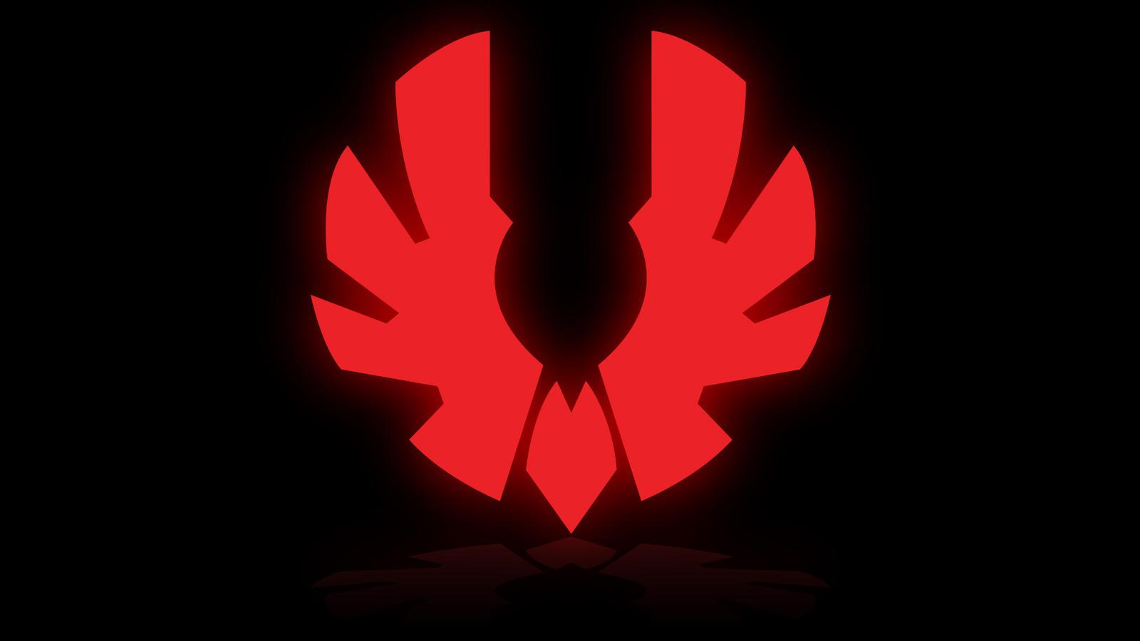 BitFenix Logo - Glow and Reflection - Black