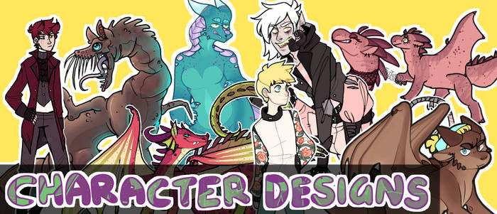 Character Design Commissions | Open