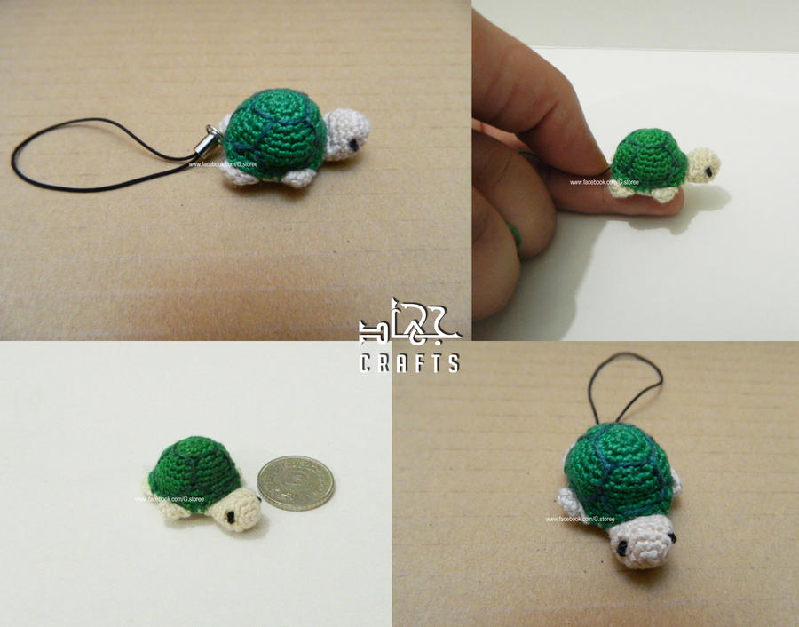 Tiny Turtle amigurumi by GehadMekki