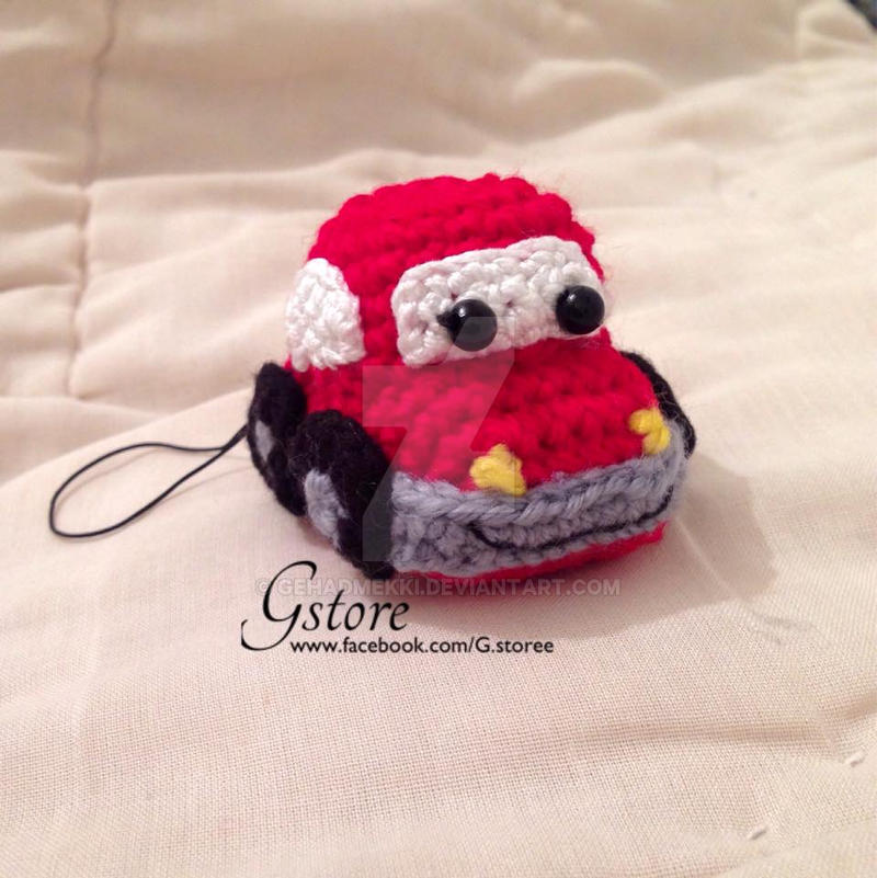 Amigurumi red car by GehadMekki on DeviantArt