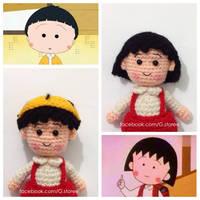 Amigurumi Chibi Maruko Chan crochet by GehadMekki