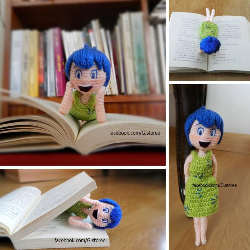 Joy inside out amigurumi pattern - crochet doll by GehadMekki