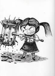 Possessed Little Girl by killerartist95