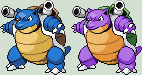 Blastoise Sprite by KingOfThe-X-Roads