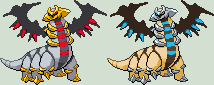 Giratina Altered Forme Sprite by KingOfThe-X-Roads