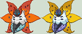 Volcarona Sprite by KingOfThe-X-Roads
