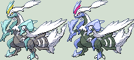 White Kyurem Sprite by KingOfThe-X-Roads