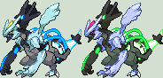 Black Kyurem Charged Sprite by KingOfThe-X-Roads
