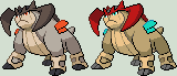 Terrakion Sprite by KingOfThe-X-Roads