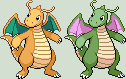 Dragonite Sprite by KingOfThe-X-Roads