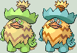 Ludicolo Sprite by KingOfThe-X-Roads