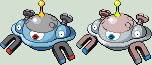 Magnezone Sprite by KingOfThe-X-Roads