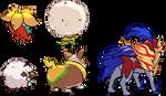 Updated: Galar Pokemon Back Sprites