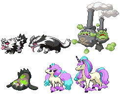 Updated: Galarian Pokemon (WIP)