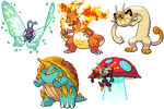 Gigantimax Pokemon Sprites WIP
