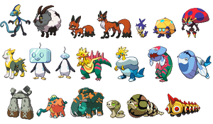 Pokemon Sword and Shield Sprites (WIP)