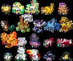 Shiny Galarian Pokemon Sprites