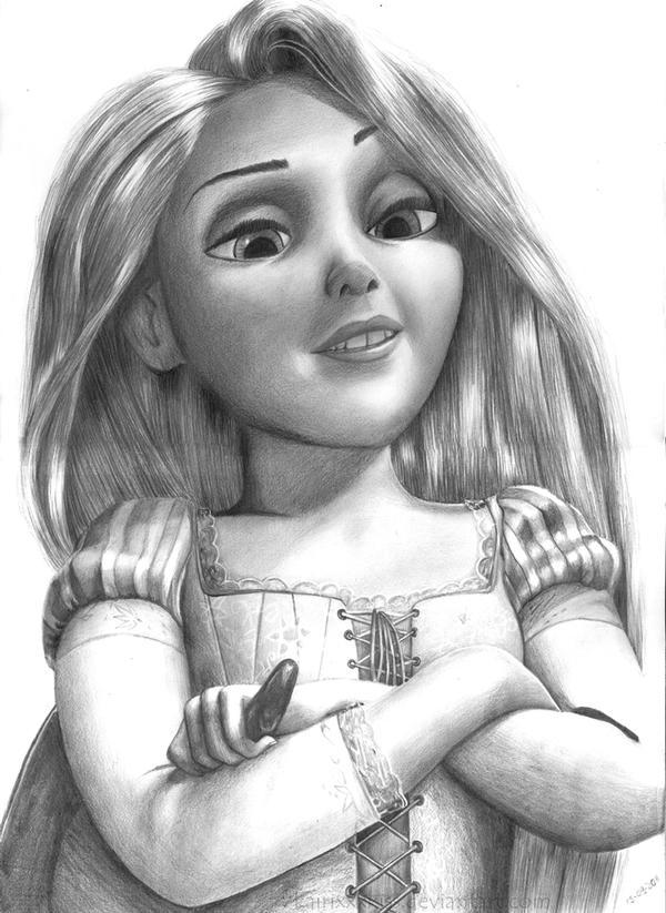 Rapunzel tangled by Kairixxxkiss