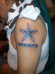 Dallas Cowboys Tattoo by i-lean303