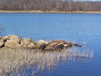 post winter lake l1 by dauntiemagic